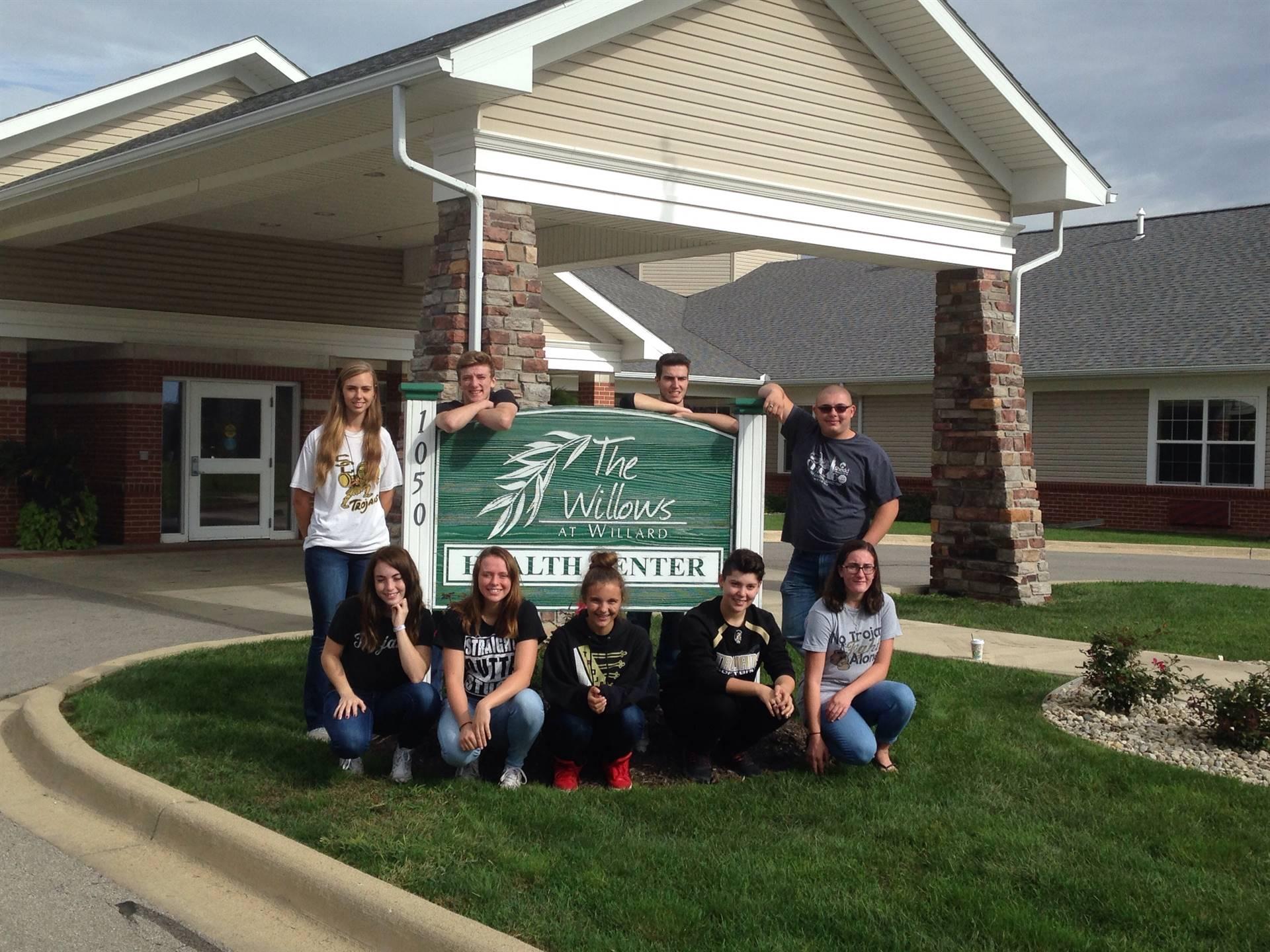 Visit to Willows 1
