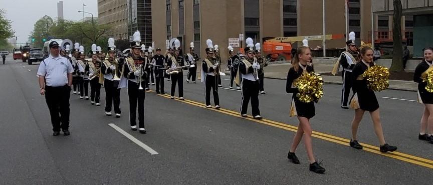 Band Police Parade